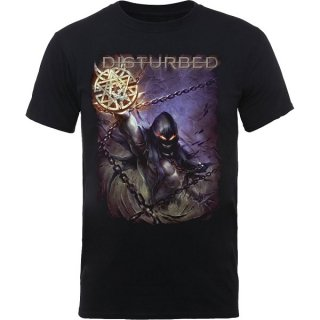 DISTURBED Vortex Colours, Tシャツ<img class='new_mark_img2' src='https://img.shop-pro.jp/img/new/icons5.gif' style='border:none;display:inline;margin:0px;padding:0px;width:auto;' />
