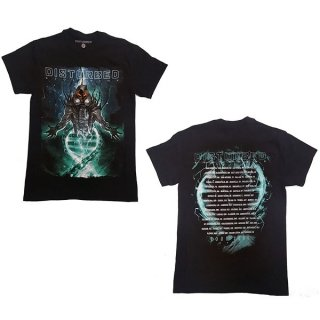 DISTURBED Evolve Dateback, Tシャツ<img class='new_mark_img2' src='https://img.shop-pro.jp/img/new/icons5.gif' style='border:none;display:inline;margin:0px;padding:0px;width:auto;' />