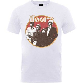 THE DOORS Retro Circle Wht, Tシャツ<img class='new_mark_img2' src='https://img.shop-pro.jp/img/new/icons5.gif' style='border:none;display:inline;margin:0px;padding:0px;width:auto;' />