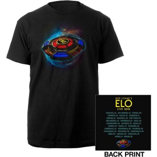 ELECTRIC LIGHT ORCHESTRA 2018 Tour Logo, Tシャツ<img class='new_mark_img2' src='https://img.shop-pro.jp/img/new/icons5.gif' style='border:none;display:inline;margin:0px;padding:0px;width:auto;' />