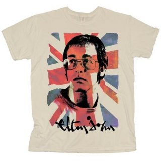 ELTON JOHN Union Jack 2, Tシャツ<img class='new_mark_img2' src='https://img.shop-pro.jp/img/new/icons5.gif' style='border:none;display:inline;margin:0px;padding:0px;width:auto;' />