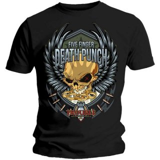 FIVE FINGER DEATH PUNCH Trouble, Tシャツ<img class='new_mark_img2' src='https://img.shop-pro.jp/img/new/icons5.gif' style='border:none;display:inline;margin:0px;padding:0px;width:auto;' />