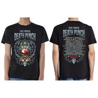 FIVE FINGER DEATH PUNCH Wingshield Fall 2017 Tour, Tシャツ<img class='new_mark_img2' src='https://img.shop-pro.jp/img/new/icons5.gif' style='border:none;display:inline;margin:0px;padding:0px;width:auto;' />