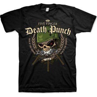 FIVE FINGER DEATH PUNCH War Head, Tシャツ<img class='new_mark_img2' src='https://img.shop-pro.jp/img/new/icons5.gif' style='border:none;display:inline;margin:0px;padding:0px;width:auto;' />