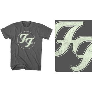 FOO FIGHTERS Gold FF Logo, Tシャツ<img class='new_mark_img2' src='https://img.shop-pro.jp/img/new/icons5.gif' style='border:none;display:inline;margin:0px;padding:0px;width:auto;' />