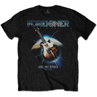 FOREIGNER Juke Box Heroes, Tシャツ<img class='new_mark_img2' src='https://img.shop-pro.jp/img/new/icons5.gif' style='border:none;display:inline;margin:0px;padding:0px;width:auto;' />