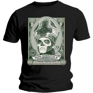 GHOST Papa Cash, Tシャツ<img class='new_mark_img2' src='https://img.shop-pro.jp/img/new/icons5.gif' style='border:none;display:inline;margin:0px;padding:0px;width:auto;' />