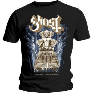 GHOST Ceremony & Devotion, Tシャツ<img class='new_mark_img2' src='https://img.shop-pro.jp/img/new/icons5.gif' style='border:none;display:inline;margin:0px;padding:0px;width:auto;' />