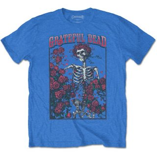 GRATEFUL DEAD Bertha & Logo Blu, Tシャツ<img class='new_mark_img2' src='https://img.shop-pro.jp/img/new/icons5.gif' style='border:none;display:inline;margin:0px;padding:0px;width:auto;' />