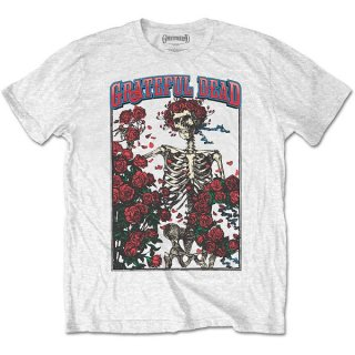GRATEFUL DEAD Bertha & Logo Wht, Tシャツ<img class='new_mark_img2' src='https://img.shop-pro.jp/img/new/icons5.gif' style='border:none;display:inline;margin:0px;padding:0px;width:auto;' />