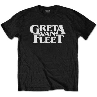 GRETA VAN FLEET Logo Blk, Tシャツ<img class='new_mark_img2' src='https://img.shop-pro.jp/img/new/icons5.gif' style='border:none;display:inline;margin:0px;padding:0px;width:auto;' />