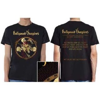 HOLLYWOOD VAMPIRES Drink Fight Puke, Tシャツ<img class='new_mark_img2' src='https://img.shop-pro.jp/img/new/icons5.gif' style='border:none;display:inline;margin:0px;padding:0px;width:auto;' />