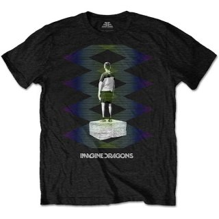IMAGINE DRAGONS Zig Zag, Tシャツ<img class='new_mark_img2' src='https://img.shop-pro.jp/img/new/icons5.gif' style='border:none;display:inline;margin:0px;padding:0px;width:auto;' />