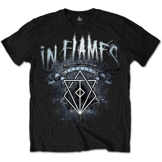 IN FLAMES Battles Crest, Tシャツ<img class='new_mark_img2' src='https://img.shop-pro.jp/img/new/icons5.gif' style='border:none;display:inline;margin:0px;padding:0px;width:auto;' />