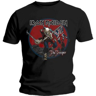 IRON MAIDEN Trooper Red Sky, Tシャツ<img class='new_mark_img2' src='https://img.shop-pro.jp/img/new/icons5.gif' style='border:none;display:inline;margin:0px;padding:0px;width:auto;' />