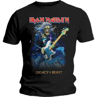 IRON MAIDEN Eddie On Bass, Tシャツ<img class='new_mark_img2' src='https://img.shop-pro.jp/img/new/icons5.gif' style='border:none;display:inline;margin:0px;padding:0px;width:auto;' />