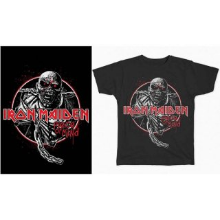 IRON MAIDEN Piece of Mind Circle, Tシャツ<img class='new_mark_img2' src='https://img.shop-pro.jp/img/new/icons5.gif' style='border:none;display:inline;margin:0px;padding:0px;width:auto;' />