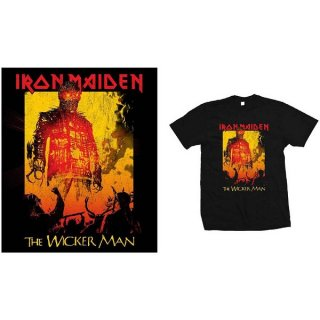IRON MAIDEN The Wicker Man Fire, Tシャツ<img class='new_mark_img2' src='https://img.shop-pro.jp/img/new/icons5.gif' style='border:none;display:inline;margin:0px;padding:0px;width:auto;' />