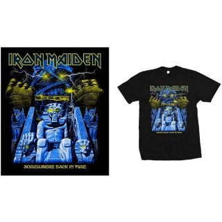 IRON MAIDEN Back In Time Mummy, Tシャツ<img class='new_mark_img2' src='https://img.shop-pro.jp/img/new/icons5.gif' style='border:none;display:inline;margin:0px;padding:0px;width:auto;' />
