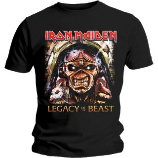 IRON MAIDEN Legacy Aces, Tシャツ<img class='new_mark_img2' src='https://img.shop-pro.jp/img/new/icons5.gif' style='border:none;display:inline;margin:0px;padding:0px;width:auto;' />