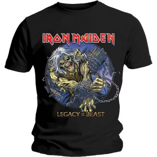 IRON MAIDEN Eddie Chained Legacy, Tシャツ<img class='new_mark_img2' src='https://img.shop-pro.jp/img/new/icons5.gif' style='border:none;display:inline;margin:0px;padding:0px;width:auto;' />