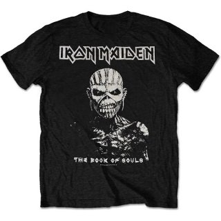 IRON MAIDEN The Book of Souls White Contrast, Tシャツ<img class='new_mark_img2' src='https://img.shop-pro.jp/img/new/icons5.gif' style='border:none;display:inline;margin:0px;padding:0px;width:auto;' />