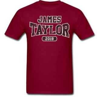 JAMES TAYLOR 2018 Tour Logo, Tシャツ<img class='new_mark_img2' src='https://img.shop-pro.jp/img/new/icons5.gif' style='border:none;display:inline;margin:0px;padding:0px;width:auto;' />