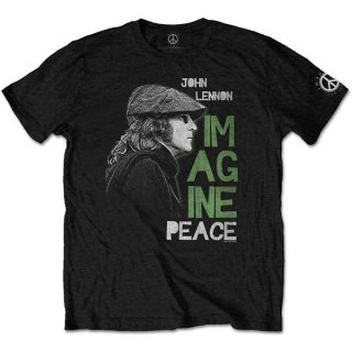 JOHN LENNON Imagine Peace, Tシャツ<img class='new_mark_img2' src='https://img.shop-pro.jp/img/new/icons5.gif' style='border:none;display:inline;margin:0px;padding:0px;width:auto;' />