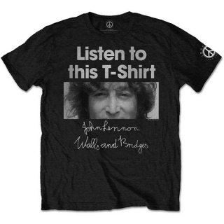 JOHN LENNON Listen Lady, Tシャツ<img class='new_mark_img2' src='https://img.shop-pro.jp/img/new/icons5.gif' style='border:none;display:inline;margin:0px;padding:0px;width:auto;' />