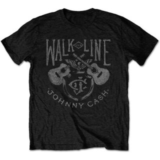 JOHNNY CASH Walk The Line, Tシャツ<img class='new_mark_img2' src='https://img.shop-pro.jp/img/new/icons5.gif' style='border:none;display:inline;margin:0px;padding:0px;width:auto;' />