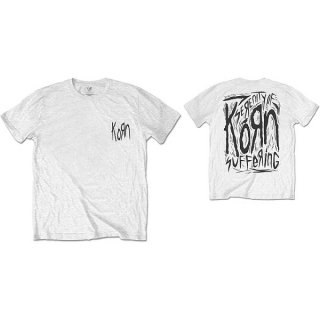 KORN Scratched Type, Tシャツ<img class='new_mark_img2' src='https://img.shop-pro.jp/img/new/icons5.gif' style='border:none;display:inline;margin:0px;padding:0px;width:auto;' />