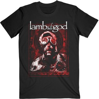 LAMB OF GOD Gas Masks Waves, Tシャツ<img class='new_mark_img2' src='https://img.shop-pro.jp/img/new/icons5.gif' style='border:none;display:inline;margin:0px;padding:0px;width:auto;' />