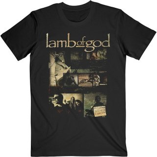 LAMB OF GOD Album Collage, Tシャツ<img class='new_mark_img2' src='https://img.shop-pro.jp/img/new/icons5.gif' style='border:none;display:inline;margin:0px;padding:0px;width:auto;' />