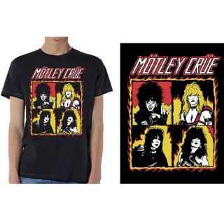 MOTLEY CRUE Shout at the Devil Flames, Tシャツ<img class='new_mark_img2' src='https://img.shop-pro.jp/img/new/icons5.gif' style='border:none;display:inline;margin:0px;padding:0px;width:auto;' />