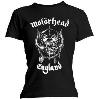 MOTORHEAD England, レディースTシャツ<img class='new_mark_img2' src='https://img.shop-pro.jp/img/new/icons5.gif' style='border:none;display:inline;margin:0px;padding:0px;width:auto;' />