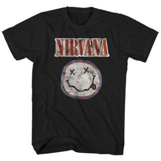 NIRVANA Distressed Logo, Tシャツ<img class='new_mark_img2' src='https://img.shop-pro.jp/img/new/icons5.gif' style='border:none;display:inline;margin:0px;padding:0px;width:auto;' />