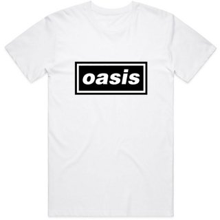 OASIS Decca Logo Wht, Tシャツ<img class='new_mark_img2' src='https://img.shop-pro.jp/img/new/icons5.gif' style='border:none;display:inline;margin:0px;padding:0px;width:auto;' />