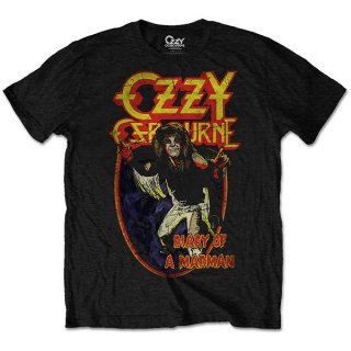 OZZY OSBOURNE Diary of a Mad Man, Tシャツ<img class='new_mark_img2' src='https://img.shop-pro.jp/img/new/icons5.gif' style='border:none;display:inline;margin:0px;padding:0px;width:auto;' />