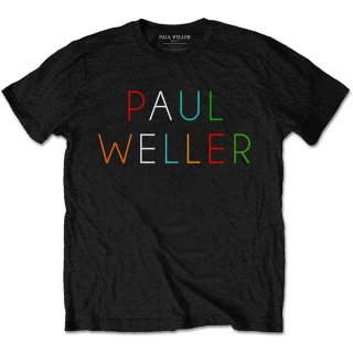 PAUL WELLER Multicolour Logo, Tシャツ<img class='new_mark_img2' src='https://img.shop-pro.jp/img/new/icons5.gif' style='border:none;display:inline;margin:0px;padding:0px;width:auto;' />