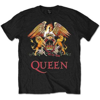 QUEEN Classic Crest 2, Tシャツ<img class='new_mark_img2' src='https://img.shop-pro.jp/img/new/icons5.gif' style='border:none;display:inline;margin:0px;padding:0px;width:auto;' />