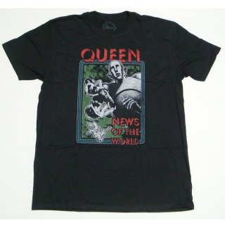 QUEEN News Of The World, Tシャツ<img class='new_mark_img2' src='https://img.shop-pro.jp/img/new/icons5.gif' style='border:none;display:inline;margin:0px;padding:0px;width:auto;' />