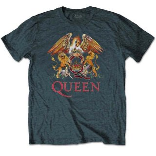 QUEEN Classic Crest Hgry, Tシャツ<img class='new_mark_img2' src='https://img.shop-pro.jp/img/new/icons5.gif' style='border:none;display:inline;margin:0px;padding:0px;width:auto;' />