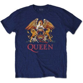 QUEEN Classic Crest Nay, Tシャツ<img class='new_mark_img2' src='https://img.shop-pro.jp/img/new/icons5.gif' style='border:none;display:inline;margin:0px;padding:0px;width:auto;' />