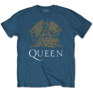 QUEEN Crest, Tシャツ<img class='new_mark_img2' src='https://img.shop-pro.jp/img/new/icons5.gif' style='border:none;display:inline;margin:0px;padding:0px;width:auto;' />