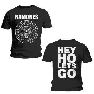 RAMONES Hey Ho, Tシャツ<img class='new_mark_img2' src='https://img.shop-pro.jp/img/new/icons5.gif' style='border:none;display:inline;margin:0px;padding:0px;width:auto;' />