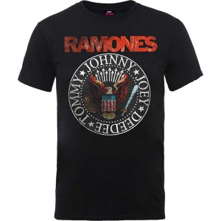 RAMONES Vintage Eagle Seal, Tシャツ<img class='new_mark_img2' src='https://img.shop-pro.jp/img/new/icons5.gif' style='border:none;display:inline;margin:0px;padding:0px;width:auto;' />