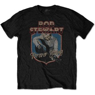 ROD STEWART Forever Crest Blk, Tシャツ<img class='new_mark_img2' src='https://img.shop-pro.jp/img/new/icons5.gif' style='border:none;display:inline;margin:0px;padding:0px;width:auto;' />