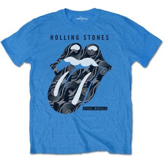 THE ROLLING STONES Steel Wheels, Tシャツ<img class='new_mark_img2' src='https://img.shop-pro.jp/img/new/icons5.gif' style='border:none;display:inline;margin:0px;padding:0px;width:auto;' />