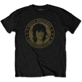 THE ROLLING STONES Keith For President, Tシャツ<img class='new_mark_img2' src='https://img.shop-pro.jp/img/new/icons5.gif' style='border:none;display:inline;margin:0px;padding:0px;width:auto;' />
