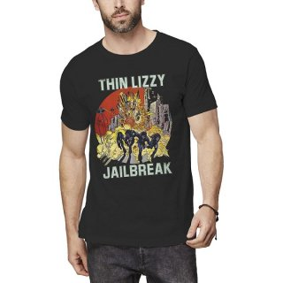 THIN LIZZY Jailbreak Explosion, Tシャツ<img class='new_mark_img2' src='https://img.shop-pro.jp/img/new/icons5.gif' style='border:none;display:inline;margin:0px;padding:0px;width:auto;' />